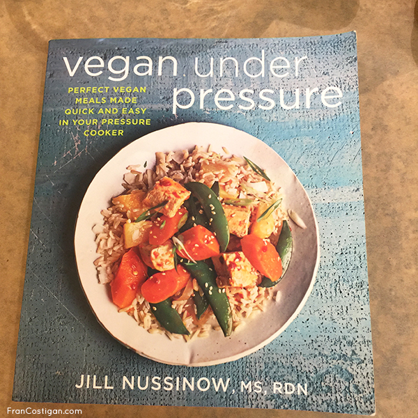 Jill's book Vegan Under Pressure