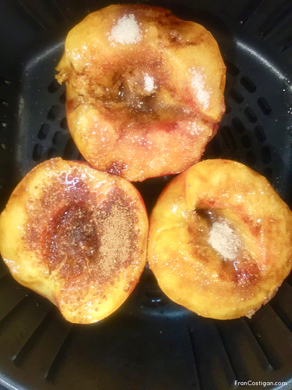 Peaches in Air Fryer