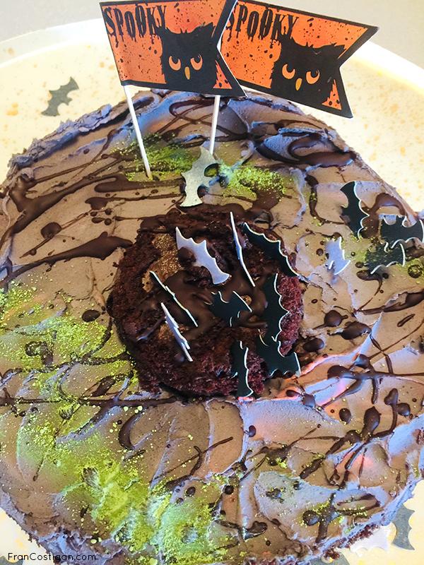 Super Easy Vegan Halloween Cake