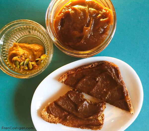 Pumpkin Butter and Toast
