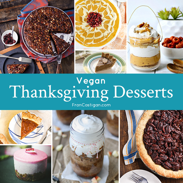 Vegan Thanksgiving Desserts