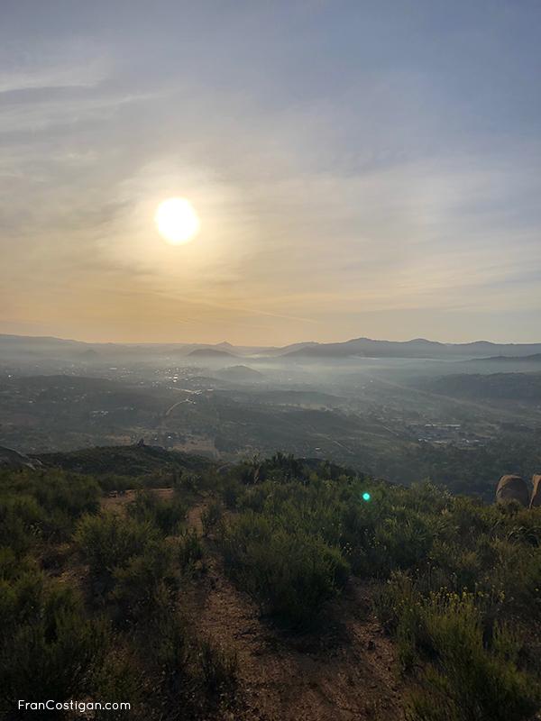 Sunrise hike