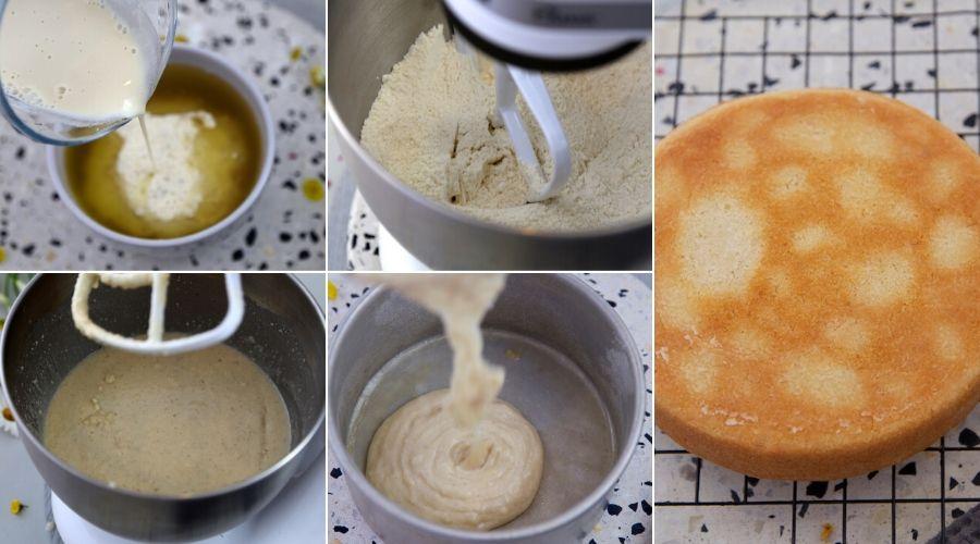 steps for making banana mud cake