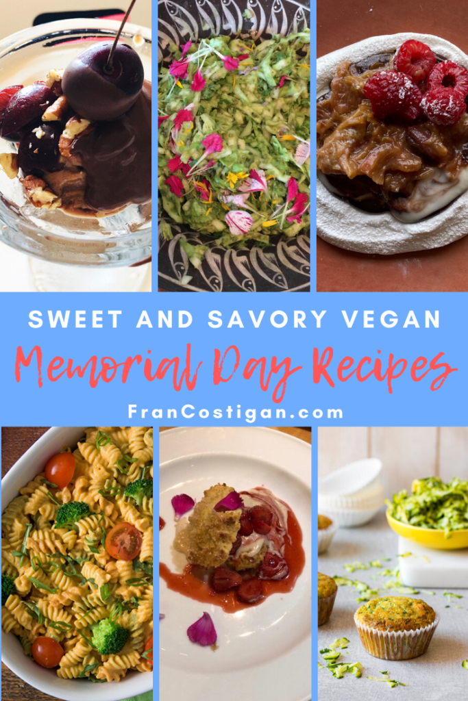 sweet and savory memorial day recipes