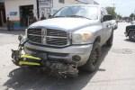 Motorizado se Salva de Morir Aplastado