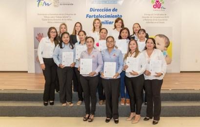 Certifica DIF Tamaulipas a Maestras de Guarderías Infantiles