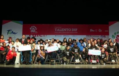 Premian a Ganadores Estatales de Talento DIF 2018