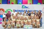 Premia Mariana Gómez a ganadores de Rondas Infantiles en Tamaulipas