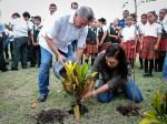 Celebran Mateo y Coral día mundial del medio ambiente
