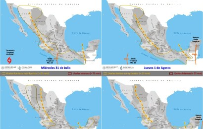 Se forma en el Pacífico la tormenta tropical Flossie; no afecta al país