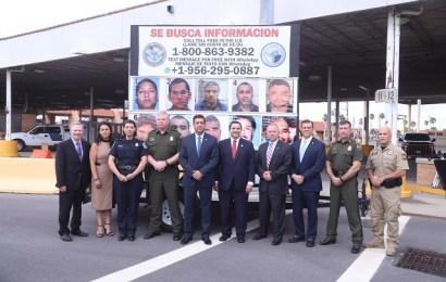 Presentan Gobierno de Tamaulipas y agencias federales estadounidenses nueva fase de campaña binacional «Se Busca»