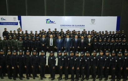 Fortalece Gobierno de Tamaulipas corporaciones policiacas con elementos más y mejor preparados