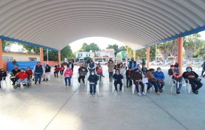 Entregan Becas «Sin Limites» en Xicoténcatl