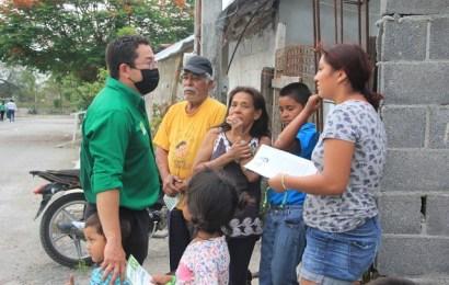 Promueve Voto a su Favor el Dr. Carballo en la colonia Anáhuac Uno