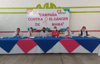 DIF Xicoténcatl Realiza Campaña de Concientización Sobre la Lucha Contra el Cáncer de Mama