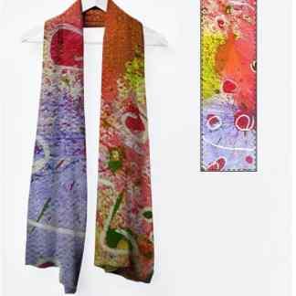 Viviene foulard long: Collection Encore des lucioles