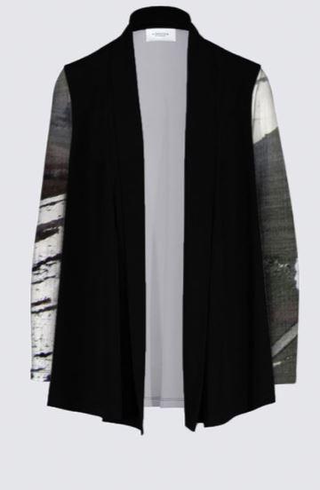 cardigan collection symphonie en noir et blanc