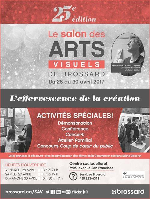 Salon visuels des arts de Brossard, Québec