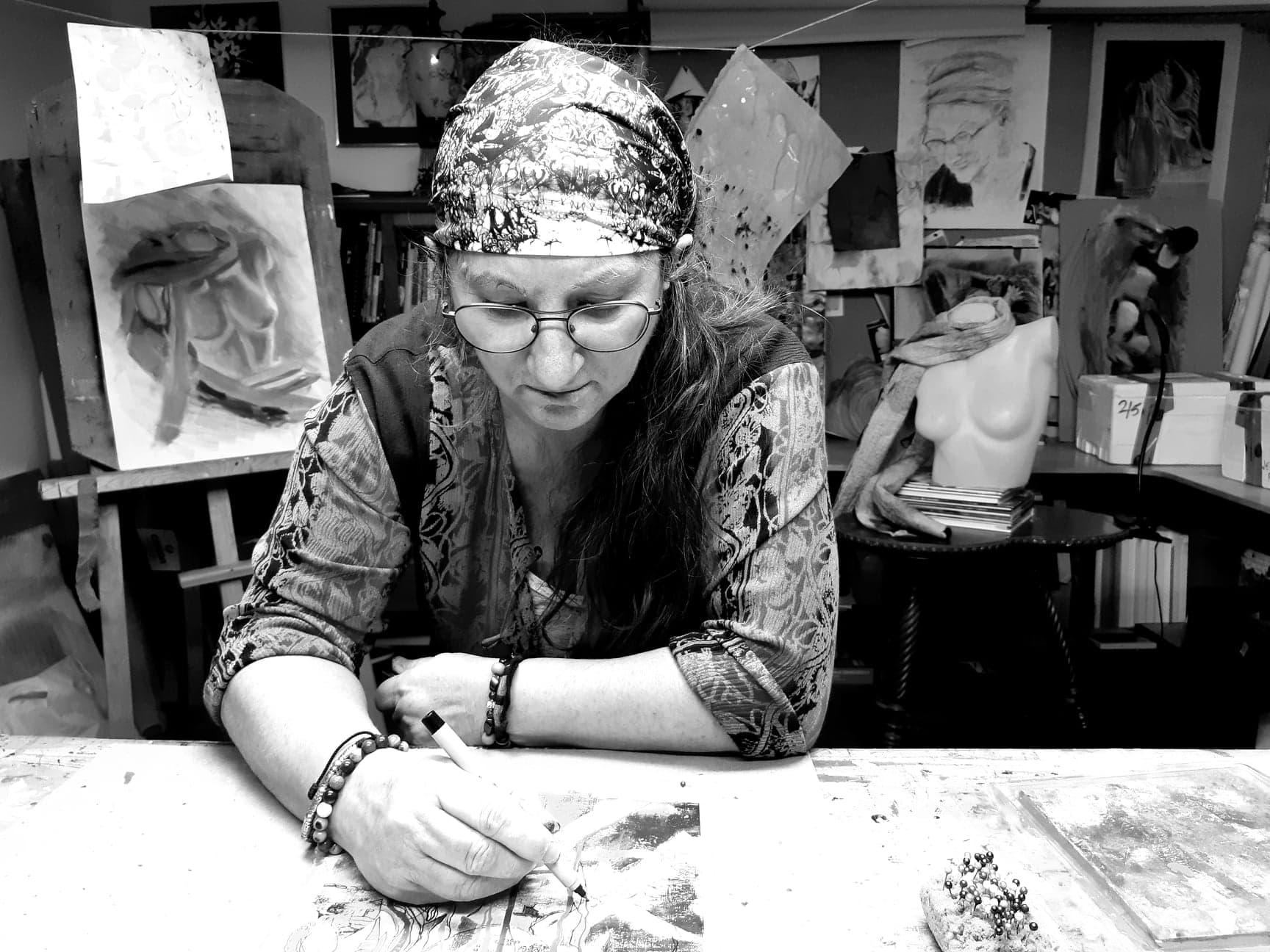 Francyne Plante,artiste