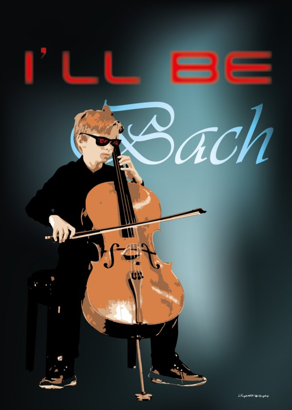 "Poster ""I'll be Bach"""