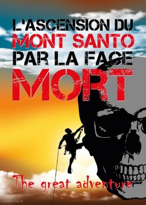Poster A3+ «Mont Santo» fond couleur