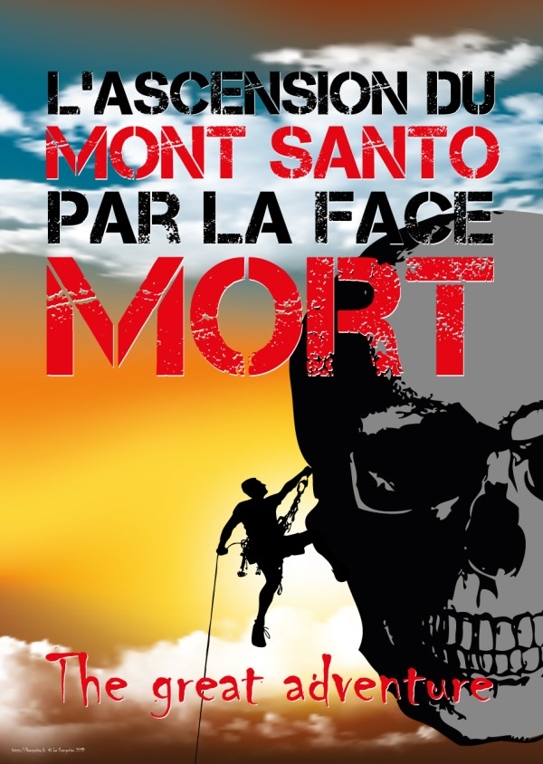 L'ascension du Mont Santo par la face Mort, en couleur