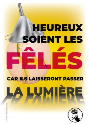 Poster Audiard «Heureux soient les fêlés…»