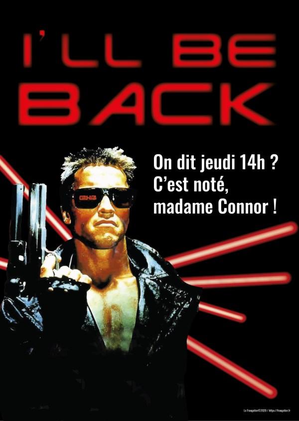 "Poster ""Terminator, rendez-vous jeudi"""