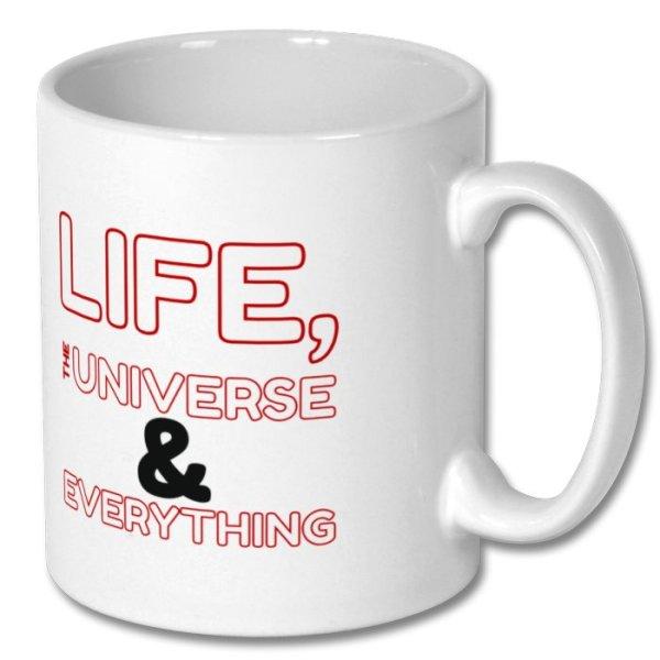 """Mug H2G2 """"42"""""""
