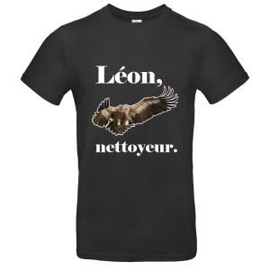 T-shirt «Léon, nettoyeur» vautour sérieux