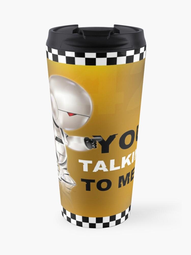 "Mug isotherme Marvin ""You talkin' to me?"""