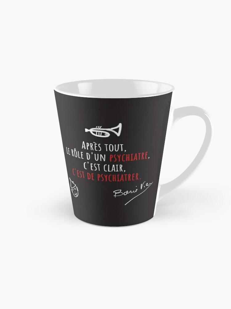 Read more about the article Mug long, citation Boris Vian