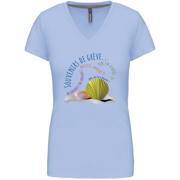 """T-shirt """"Souvenirs de grève"""""""