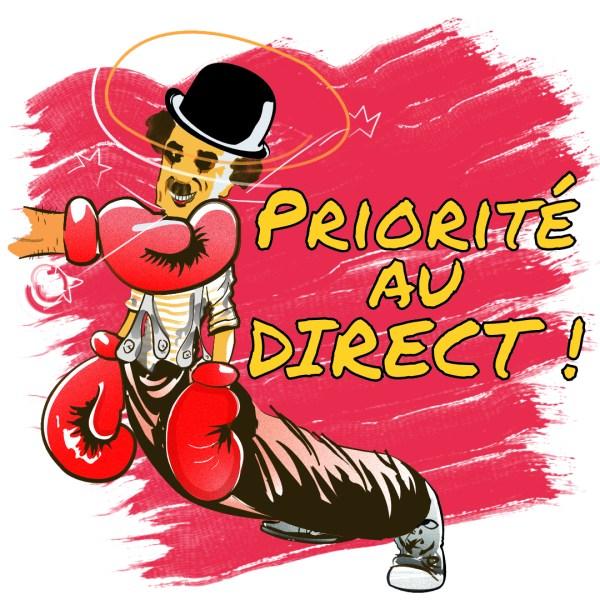 """Magnet """"Priorité au direct !"""""""