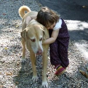 Hugging Charlie by Clover_1