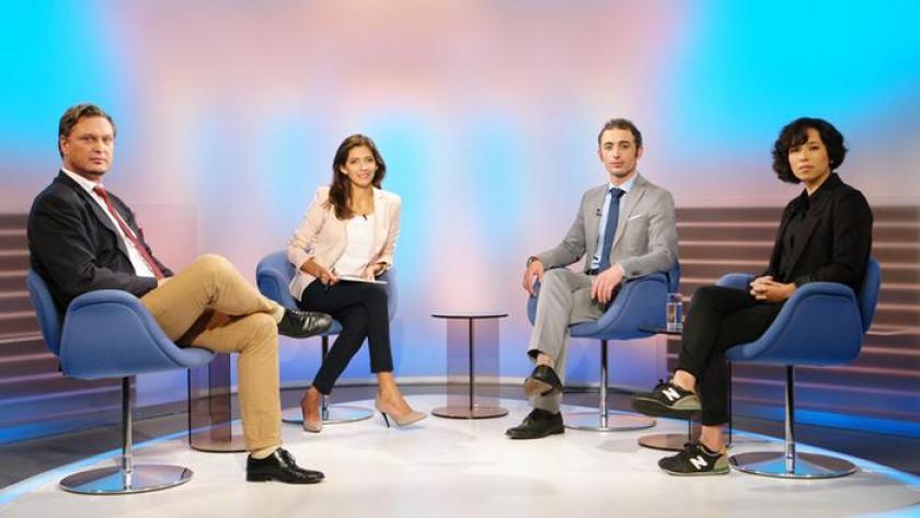 """In der Deutsche Welle TV Talkshow """"Quadriga"""" im Oktober 2015"""
