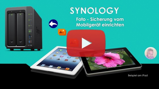 Video Fotosicherung mit Photo Station