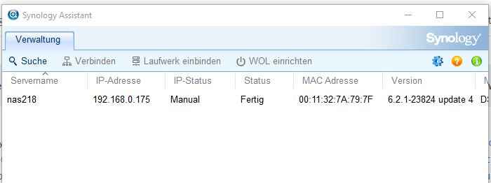 synology-assistent