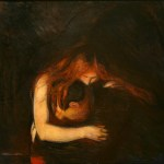 Munch-Vampire (Charles Baudelaire Le Vampire)
