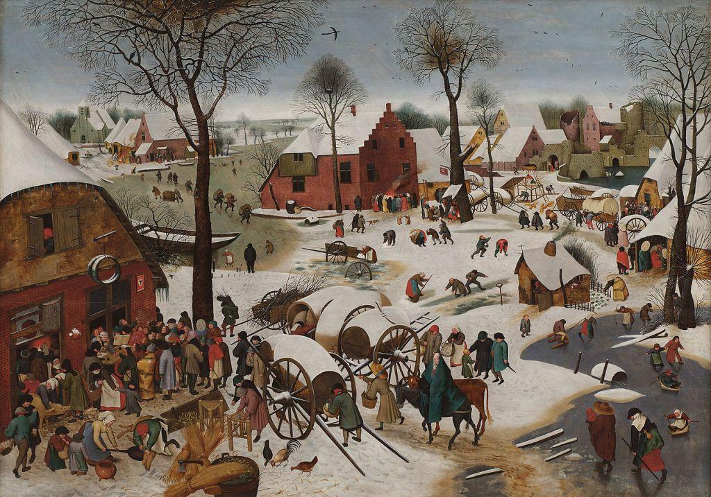 hiver - Le Dénombrement de Bethléem - lovisolo