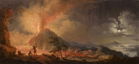 Pline, Herculanum et Pompéi - Volaire-Vesuve