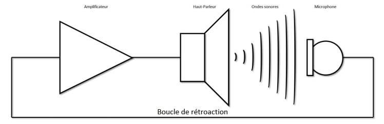 Effet Larsen - Boucle de rétroaction - Lovisolo