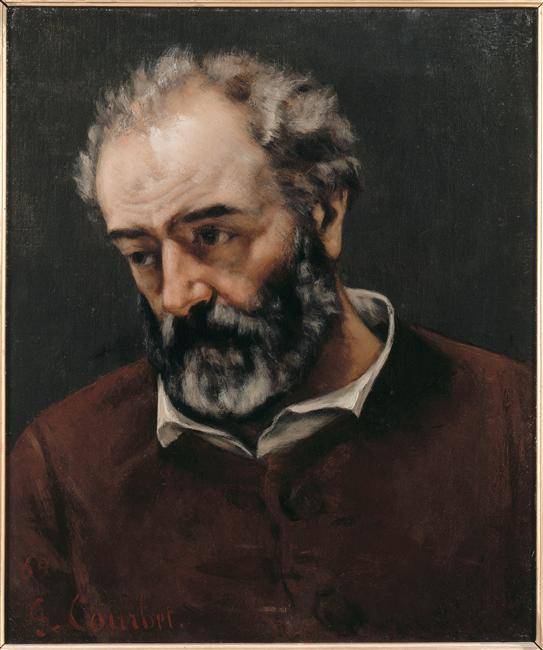 Portrait dePaul Chenavard Gustave Courbet