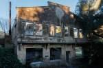 Les bâtiments abandonnés de la baie de Balaguier