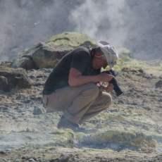 Dans les fumerolles - Isola di Vulcano