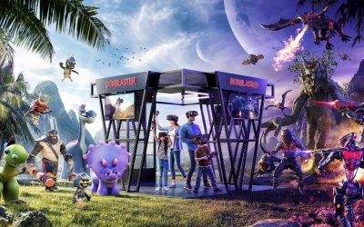 Boxblaster VR has Re-Platformed Exit Reality Attraction