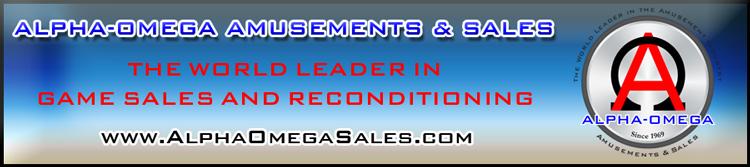 Alpha-Omega Amusements & Sales - Redemption Games