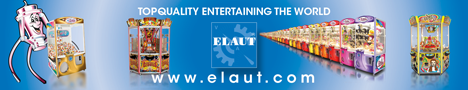 Elaut Top Quality Entertaining The World AMUSEMENT & GAMING
