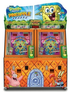 Games Spreadsheet Report SpongeBob Pineapple Andamiro