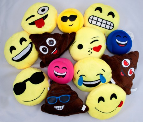 Emoji Jumbo Plush Pack